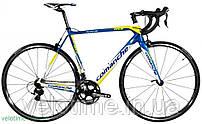 шоссейный велосипед Comanche R-One (55 см, желтый-синий)