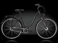 городской велосипед Bergamont Belami N8 2014 год (52 см, черный-красный)