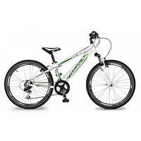 """подростковый велосипед Comanche Areco (12,5"""", белый-зеленый)"""