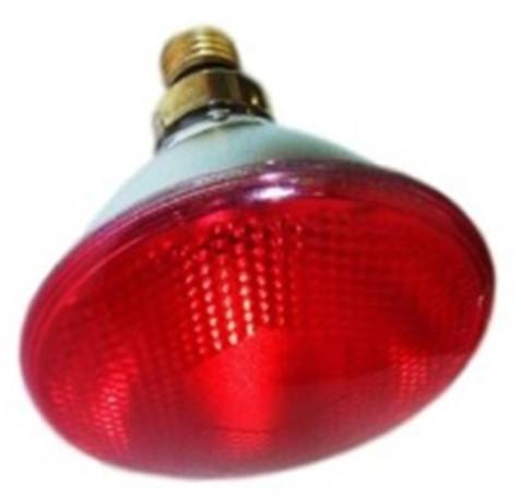 Лампа для обогрева инфракрасная 175 Вт Е27