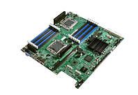БУ Материнська плата для сервера Intel S5520UR, 2х1366, 12xDDR3, 2xLan, EATX (S5520UR)