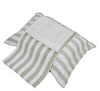 Лен и шелк в постельном белье Hamam Galata