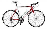 шоссейный велосипедAuthor A55 2013 год (54 см, белый-красный)