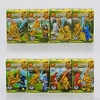 Конструктор Ninja 79269 Герои Ninja. Набор из 16шт. Для детского садика