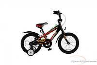 """детский велосипед Comanche Moto W16 (8"""", черный-красный)"""