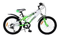 """детский велосипед Comanche Moto Six W20 (10"""", белый-зеленый)"""