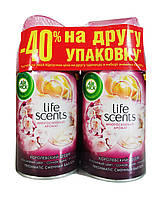 Освежители воздуха Air Wick Life Scents Королевский десерт (сменные аэрозольные баллоны) - 2 х 250 мл.