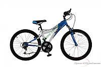 """подростковый велосипед Comanche Ranger Colt Fs (15"""", синий-белый)"""