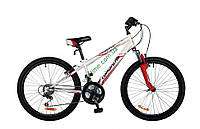 """подростковый велосипед Comanche Pony Fs (11"""", белый-красный)"""