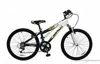 """подростковый велосипед Comanche Indigo Fs (12,5"""", белый-черный)"""