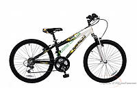 """подростковый велосипед Comanche Indigo Fs (14"""", белый-черный)"""