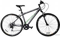 """кроссовый велосипед Comanche Tomahawk Cross (18"""", серебристый)"""