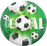 Тарелки бумажные Футбол 10шт.