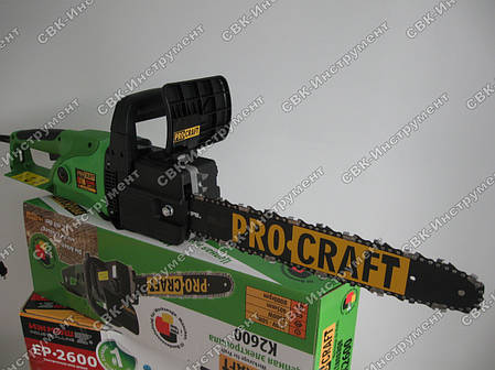 Цепная электропила Procraft K2600, фото 2
