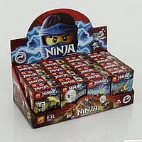 Конструктор Ninja 79267 Герои Ninja. Набор из 16шт. Для детского садика