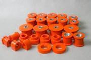 Комплект полиуретановых втулок обычные/со смещенным центром на Nissan Patrol y60/61 до 2000 г
