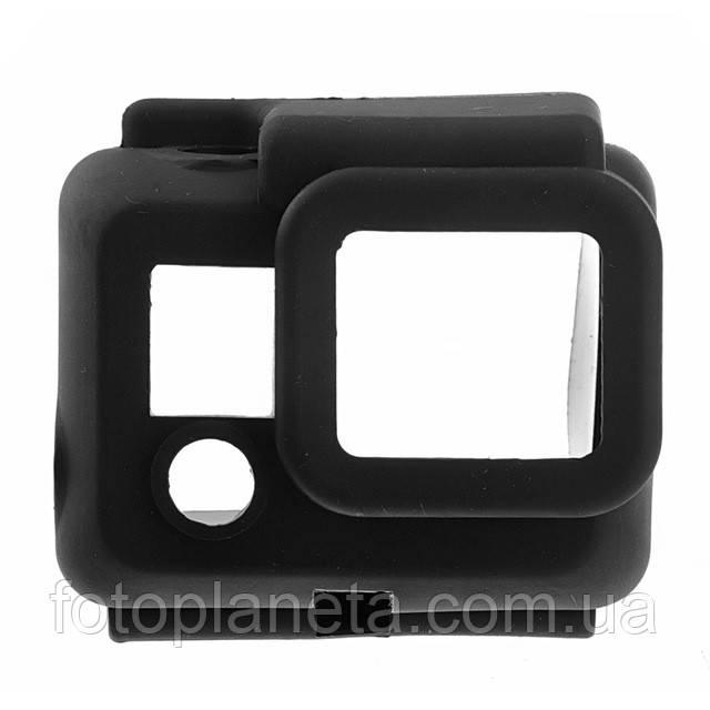 Чехол силиконовый для бокса (черный) GoPro 3