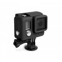 Чехол силиконовый для бокса (черный) GoPro 3+, 4