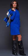 Кашемировое пальто с клетчатой жилеткой. Разные цвета.