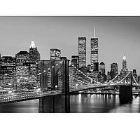 Фотообои W&G 00138 Манхеттен ночной город 366*254