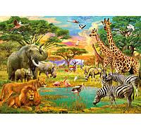 Фотообои W&G 00154 Африканские животные 366*254