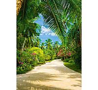 Фотообои W&G 00438 Тропический путь 183*254