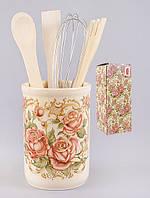 Керамическая Подставка для кухонных принадлежностей