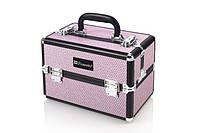 Кейс для косметики розовый инкрустированный Pink Bling Box BH Cosmetics Оригинал