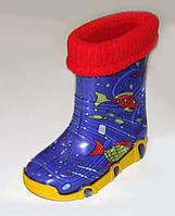 Резиновые сапоги с носочком детские Zetpol, фото 1