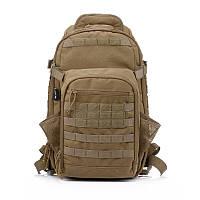 Тактический рюкзак 55 литров Тан