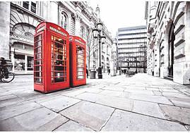 Фотообои Prestige № 7 Лондонские телефоны 196*136