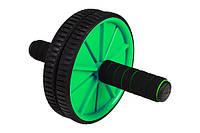 Ролик для пресса Hop-Sport green, фото 1
