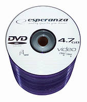 Диск ESPERANZA DVD-RW  4,7GB X4 - SZPINDEL 100 шт..