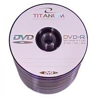 Диск TITANUM DVD-R  4,7GB X8 - SZPINDEL 100 шт..
