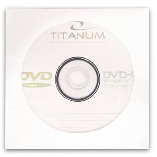 Диск TITANUM DVD-R  4,7GB X8 - конверт  1 шт..