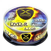 Диск EXTREME DVD-R 4,7GB X16 - CAKE BOX 25 шт..