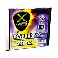 Диск EXTREME DVD+R  4,7GB X16 - тонкий чехол 1 шт..