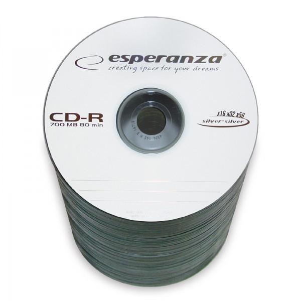 Диск ESPERANZA CD-R  серебристый   - SZPINDEL 100 шт..