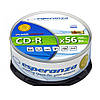 Диск ESPERANZA CD-R  серебристый   - CAKE BOX 25 шт..