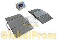 Весы подкладные автомобильные поосного взвешивания ВПД-ПС (весы типа PW-15 и PWS-20) – 15 тонн, 20 тонн
