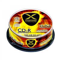 Диск EXTREME CD-R  - CAKE BOX 25 шт..