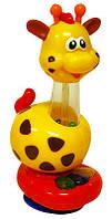 "Игрушка Жирафик на присоске фирмы ""Kiddieland"""