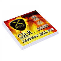 Диск EXTREME CD-R  - конверт  10 шт..