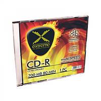 Диск EXTREME CD-R  - тонкий бокс 1 шт..