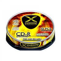 Диск EXTREME CD-R  - CAKE BOX 10 шт..