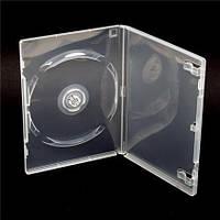 Коробка для хранения дисков  на 1 DVD - бесцветный (14 MM.)