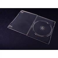 Коробка для хранения дисков  на 2 DVD ULTRA тонкий - бесцветный (7 MM.)