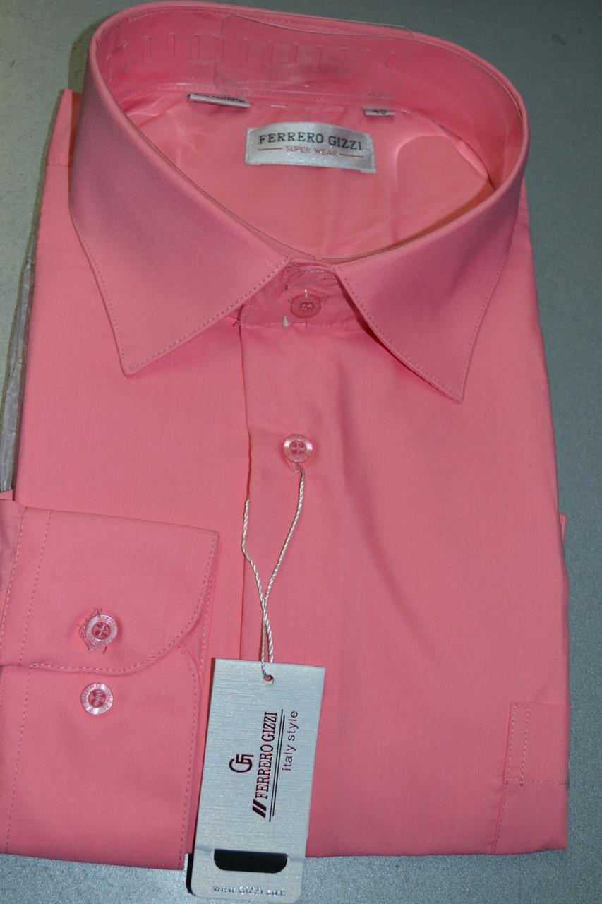 Чоловіча сорочка FERRERO GIZZI ( розміри 40.41.42)