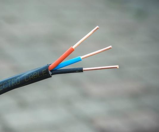 кабель ВВГ нг 3х2,5 ЗЗЦМ