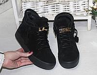 Зимние короткие ботинки